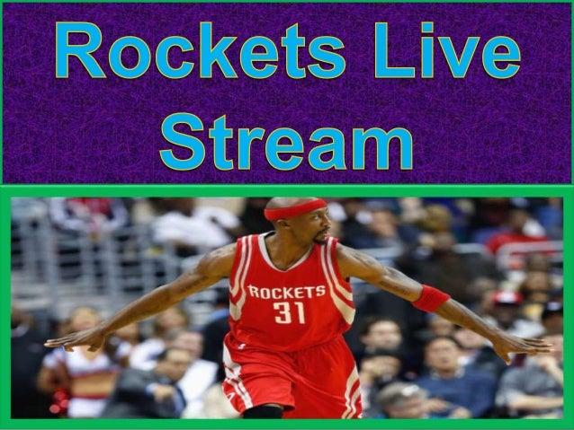 rockets live stream