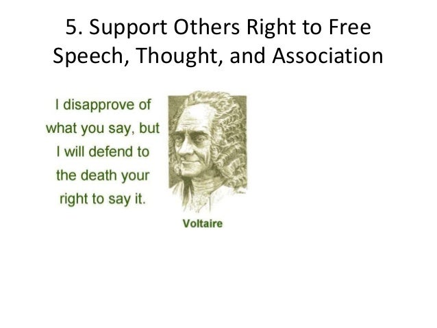 Doc600650 Freedom of Speech Example Template Sample Freedom – Freedom of Speech Example Template