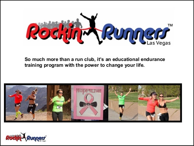 So much more than a run club, it's an educational endurance training program with the power to change your life.
