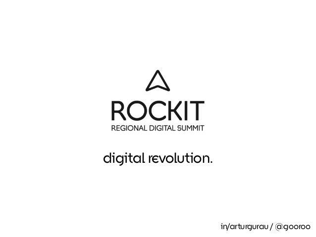digital revolution. in/arturgurau / @gooroo