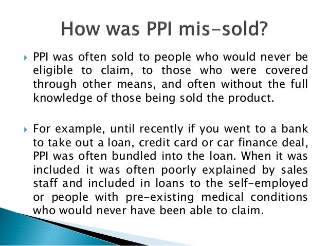 ppi claim template letter to bank - rock law what is ppi