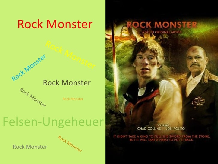 Rock Monster                     R oc                            kM                ter                                    ...