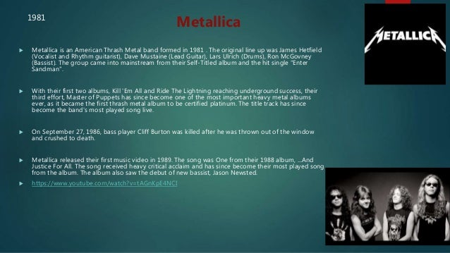 Rock music powerpoint