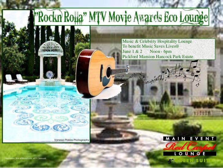 Music & Celebrity Hospitality Lounge                                              To benefit Music Saves Lives®           ...