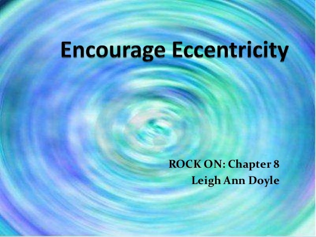 ROCK ON: Chapter 8   Leigh Ann Doyle