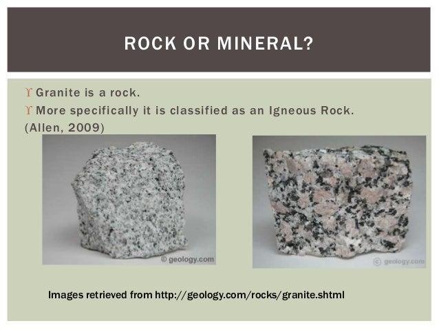granite rock mineral project. Black Bedroom Furniture Sets. Home Design Ideas