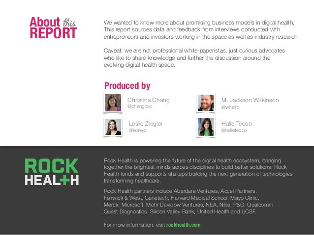 Rock Health is powering the future of the digital health ecosystem, bringing together the brightest minds across disciplin...