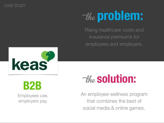 B2B Rising healthcare costs and insurance premiums for employees and employers. 5 solution: An employee wellness program t...