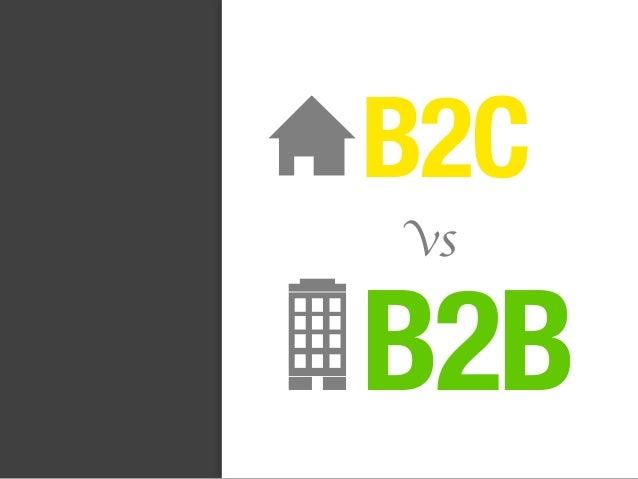 B2B B2C vs