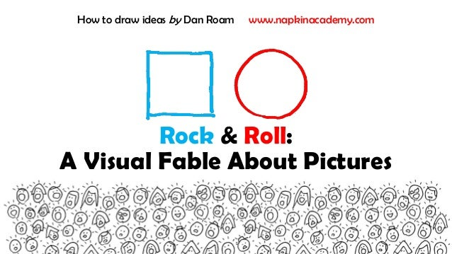 Rock & Roll: A Visual Fable About Pictures How to draw ideas by Dan Roam www.napkinacademy.com