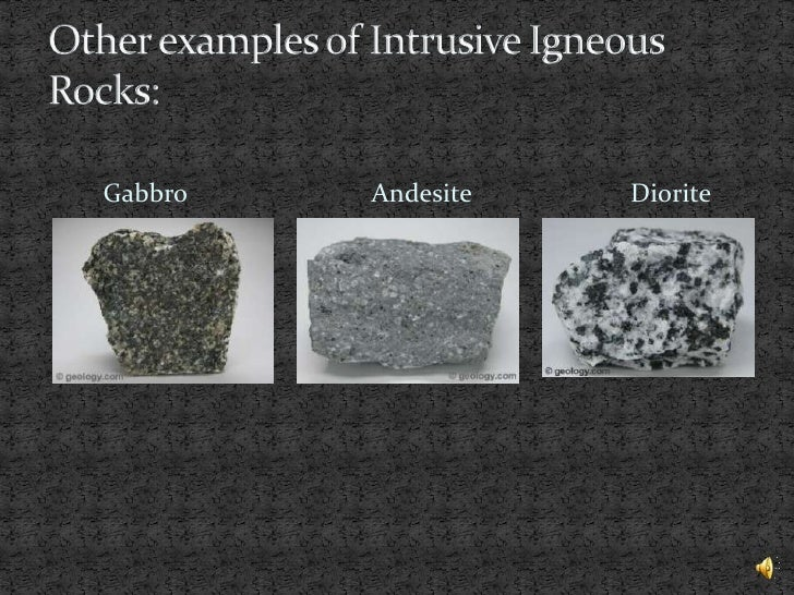 igneous rocks diorite essay D intrusive and extrusive magmas and igneous rocks intrusive refers to igneous rock  or diorite) o note that the igneous chart  igneous rocks in.
