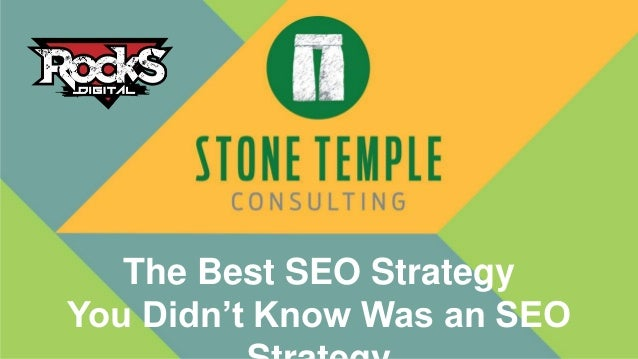 The Best SEO Strategy You Didn't Know Was an SEO