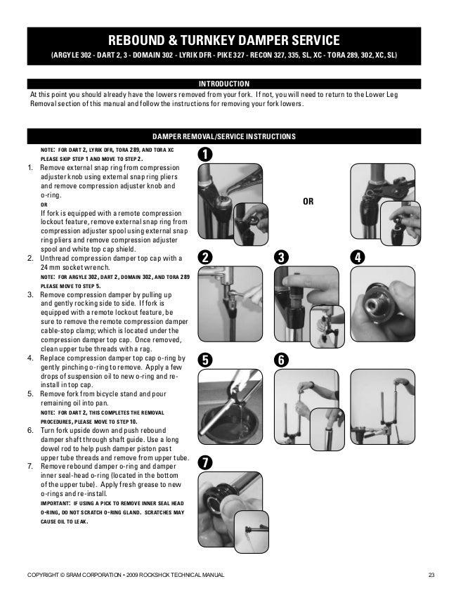 rockshox dart 3 sl manual lawn - FREE ONLINE