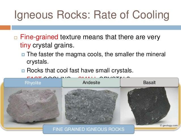 Rocks - Igneous
