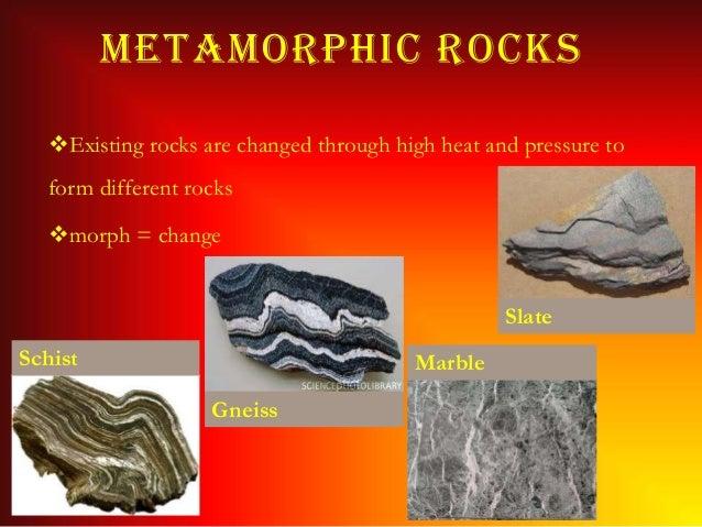 rocks and types of rocks pdf