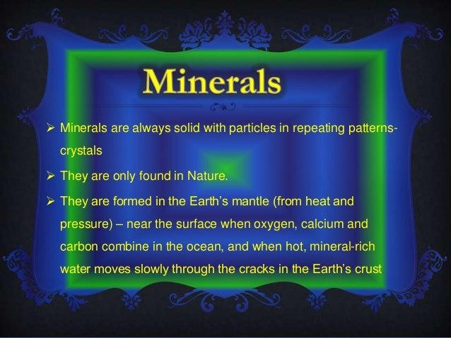 Rocks & minerals Slide 2