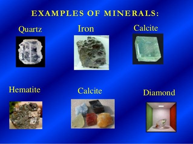 Rocks & minerals Slide 3