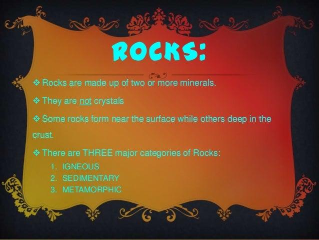 Rocks Amp Minerals