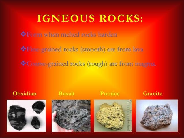 Characteristics of igneous rocks yahoo dating