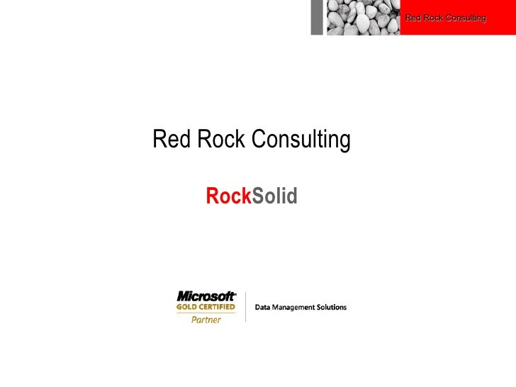Red Rock Consulting Rock Solid