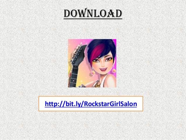 Rockstar Girl Fashion Salon Game