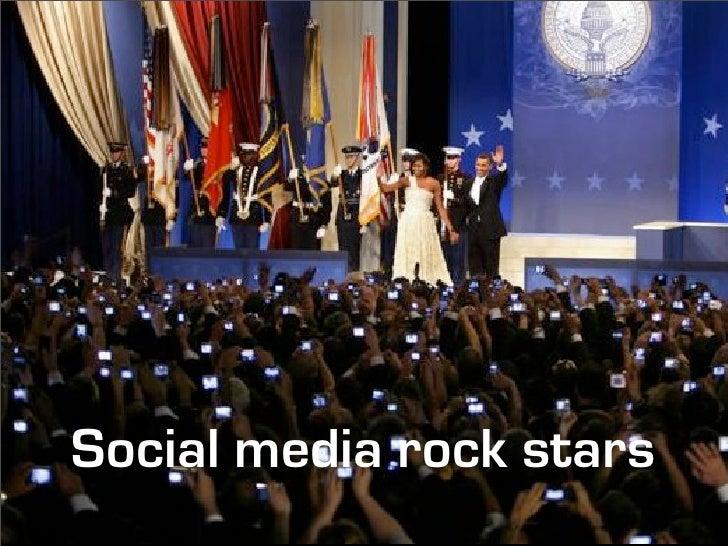 Social media rock stars