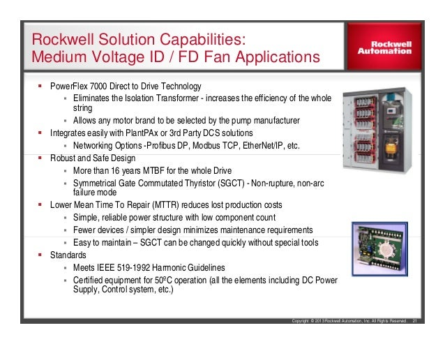 Rockwell Automation Air Pollution Control Solutions