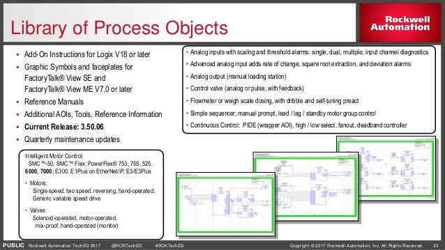 Rockwell Automation Library of Process Objects - oukas info