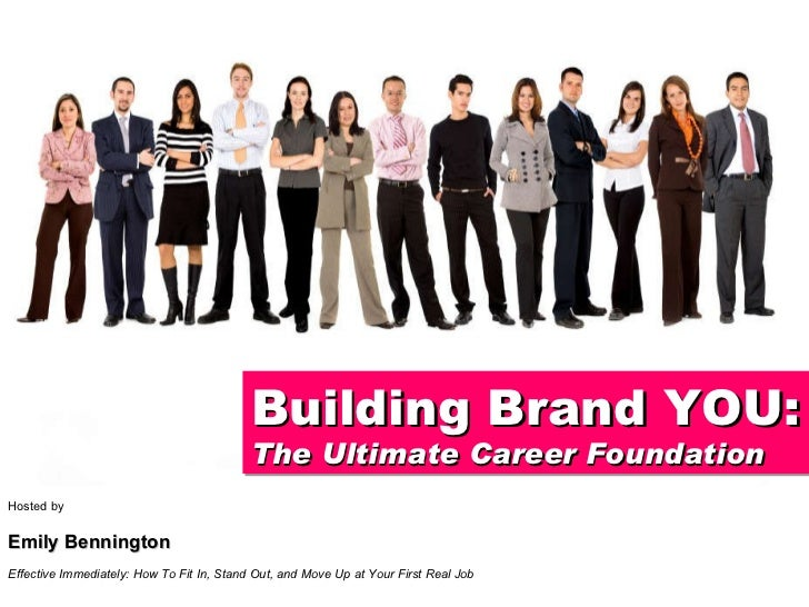Hosted by Emily Bennington Effective Immediately: How To Fit In, Stand Out, and Move Up at Your First Real Job Building Br...