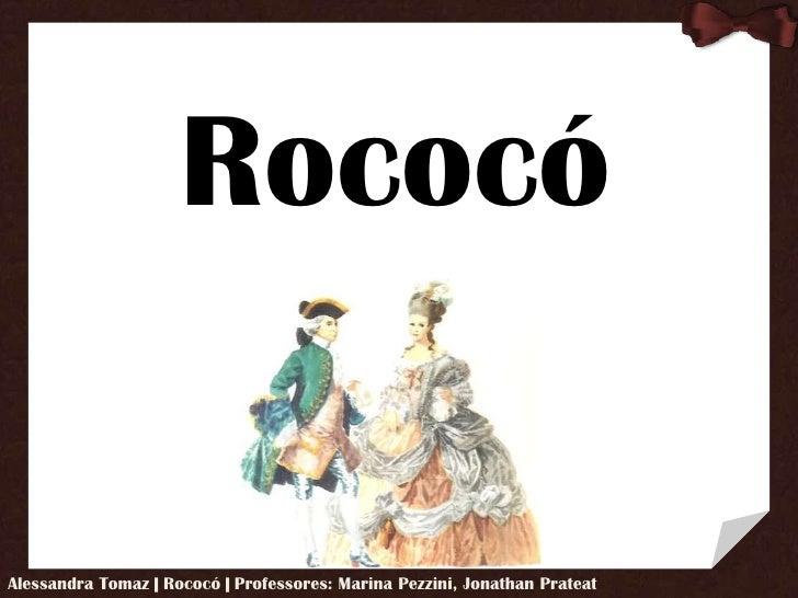 Rococó<br />