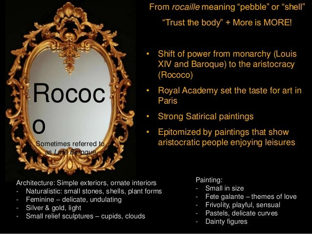 rococo vs neoclassicism Baroque, rococo, and neoclassicism: comparison and contrast - free download as pdf file (pdf), text file (txt) or read online for free baroque, rococo, and neoclassicism: comparison and contrast.