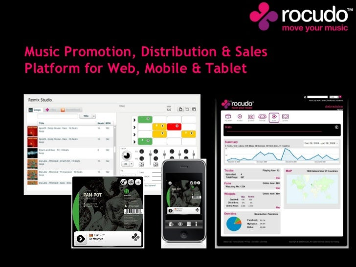 Music Promotion, Distribution & Sales Platform for Web, Mobile & Tablet