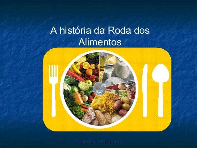 A história da Roda dos Alimentos  Anabela Marques