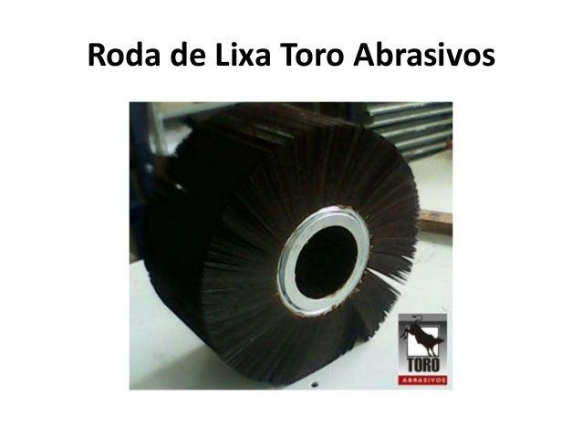 Roda de Lixa Toro Abrasivos