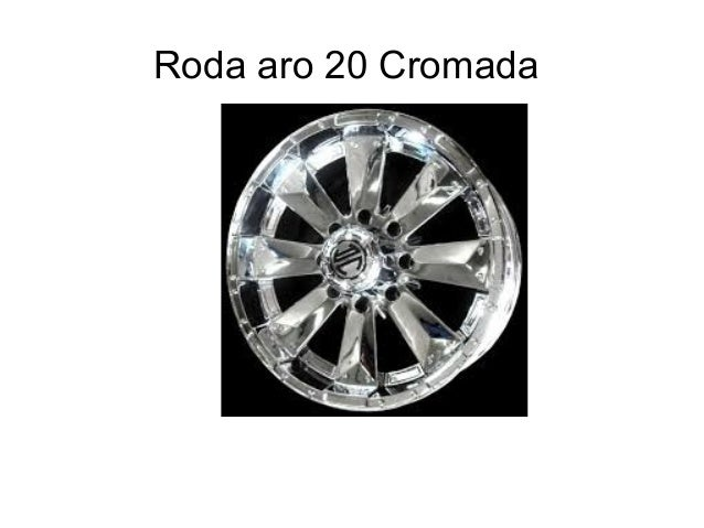 Roda aro 20 Cromada