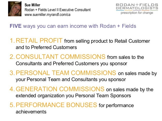 Rodan And Fields Level 5 Income Under Fontanacountryinn Com