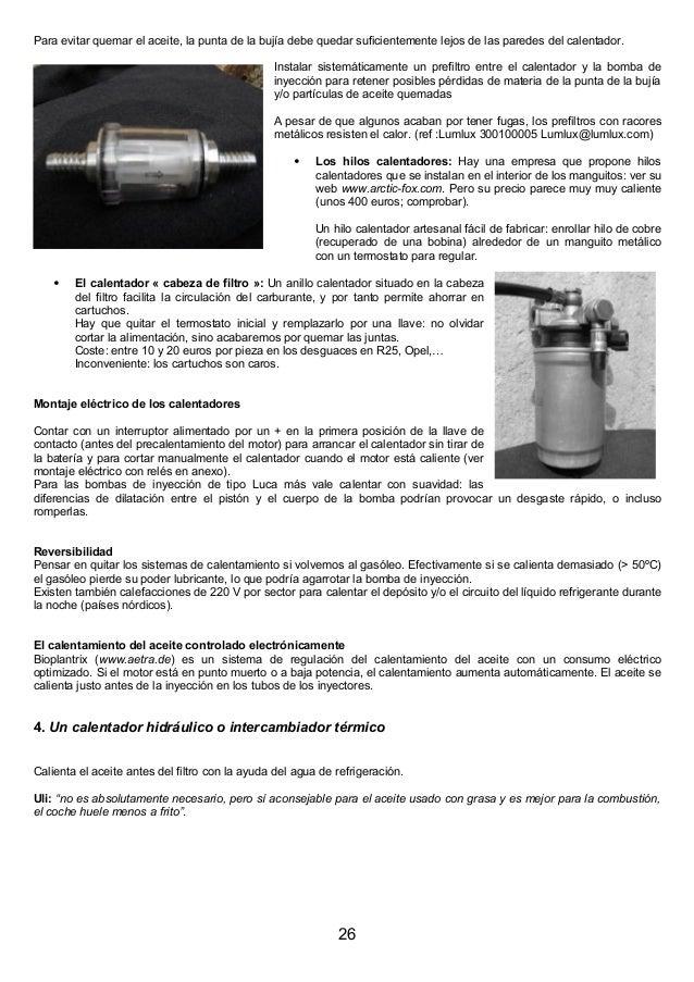 El combustible del futuro adios al grifo por diesel - Calentadores de aceite ...