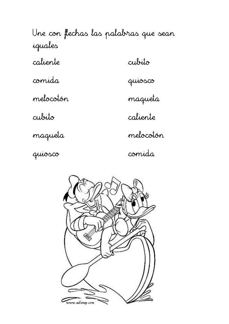 trabajar con las letras c qu