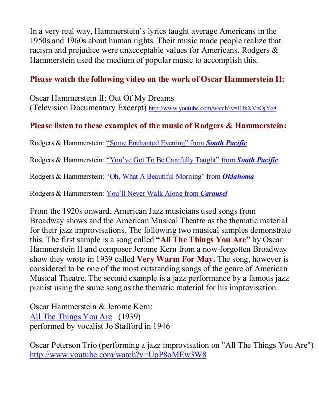 Lyric lyrics you ll never walk alone : Rodgers & Hammerstein