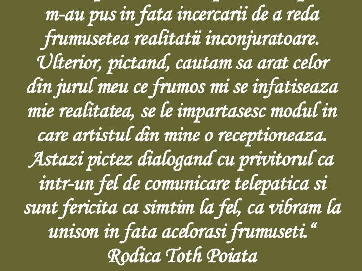 Rodica Toth- my favorit paintre Slide 3