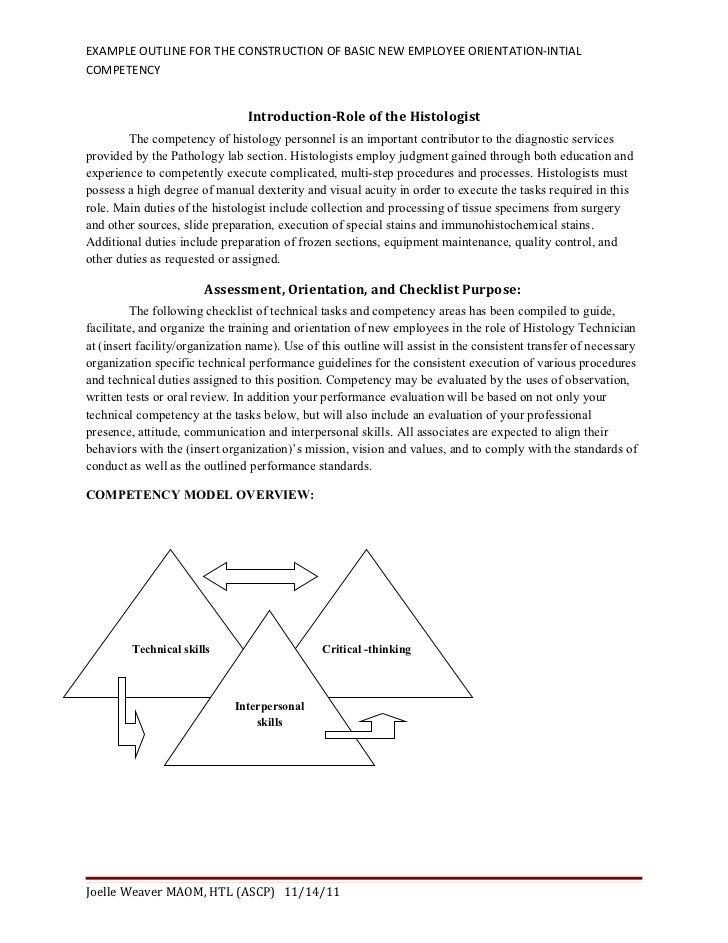 Ro Draft Of Sample Ht Checklist