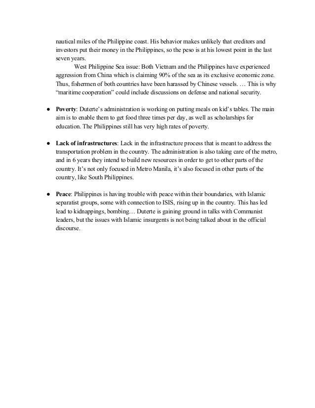 Rodrigo Duterte Official Research Document