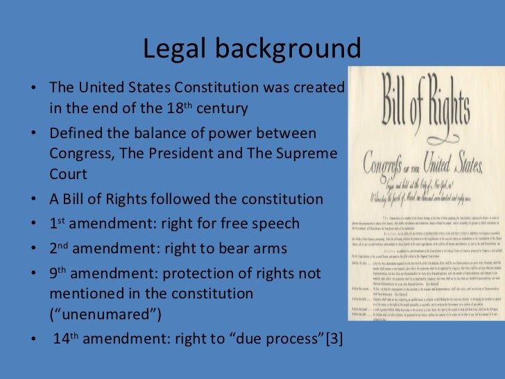 an analysis of griswold v connecticut Griswold v connecticut in 1965 the supreme court ruled on a case concerning a connecticut law that criminalized the use of birth control ruling that the states had no right to ban.