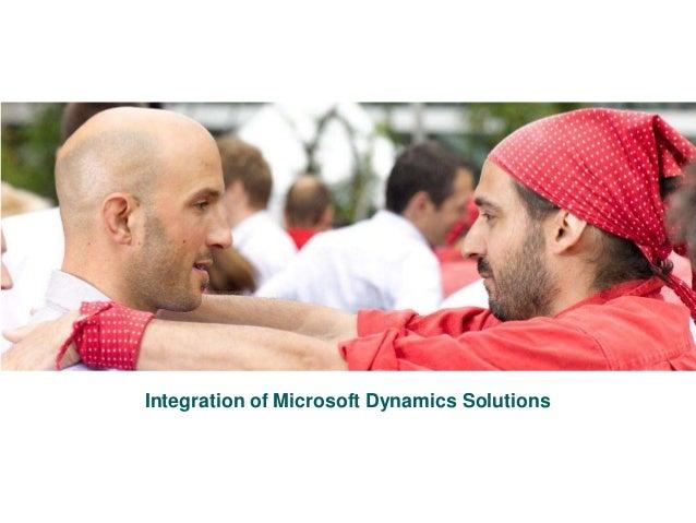 1Roedl & Partner - Integration of Microsoft Dynamics Solutions 3/29/2016 Integration of Microsoft Dynamics Solutions