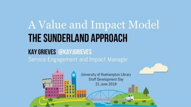 Roehampton University Staff Development Day: A Value and Impact Model The Sunderland Approach