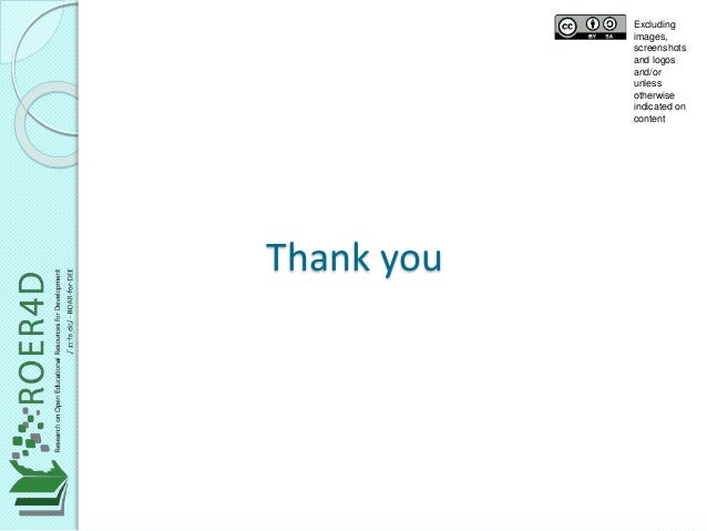 Thank you  Excluding  images,  screenshots  and logos  and/or  unless  otherwise  indicated on  content