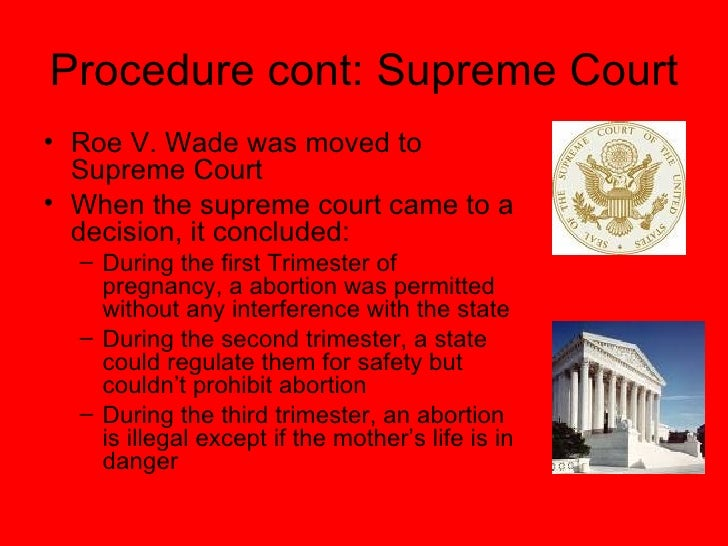 an analysis of the roe versus wade decision by the supreme court in 1973 A new analysis published by the national right to life committee indicated there have been an estimated 60,069,971 abortions since the supreme court handed down its 1973 roe vs wade.