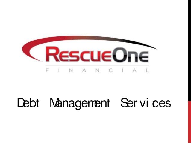 Debt Management Ser vi ces