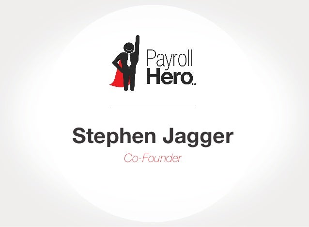 Stephen Jagger Co-Founder