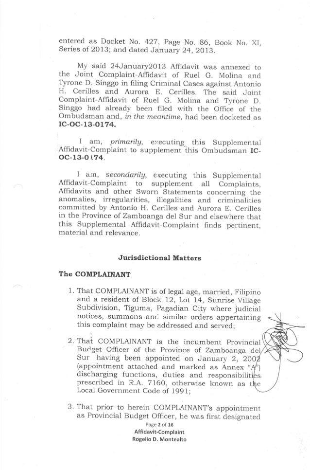 Blank Affidavit Form Joint Affidavit Late Or Delayed Registration